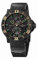 Ulysse Nardin Black Sea Blue Sea Mens Wristwatch 263-92LE-3C-928-RG