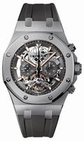 Audemars Piguet Royal Oak Tourbillon Chronograph Titanium Mens Wristwatch 26347TI.GG.D004CA.01