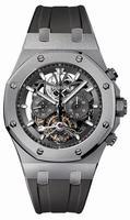 Audemars Piguet Royal Oak Tourbillon Chronograph Titanium Mens Wristwatch 26347TI.GG.D004CA.02