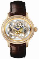 Audemars Piguet Millenary Diamond Set Chalcedony Mens Wristwatch 26354OR.ZZ.D080GA.01