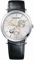 Audemars Piguet Jules Audemars Dual Time Mens Wristwatch 26380BC.OO.D002CR.01
