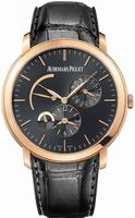 Audemars Piguet Jules Audemars Dual Time Mens Wristwatch 26380OR.OO.D002CR.01