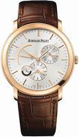 Audemars Piguet Jules Audemars Dual Time Mens Wristwatch 26380OR.OO.D088CR.01