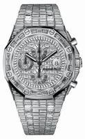 Audemars Piguet Royal Oak Offshore Chronograph White Gold Mens Wristwatch 26473BC.ZZ.8043BC.01