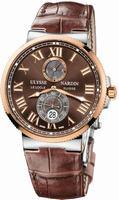 Ulysse Nardin Maxi Marine Chronometer 43mm Mens Wristwatch 265-67-45