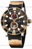 Ulysse Nardin Maxi Marine Diver Titanium Mens Wristwatch 265-90-3-92