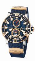 Ulysse Nardin Marine Diver Titanium Mens Wristwatch 265-90-3/93