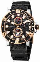 Ulysse Nardin Maxi Marine Diver Titanium Mens Wristwatch 265-90-3C-92
