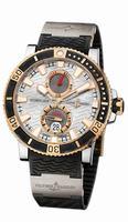 Ulysse Nardin Marine Diver Titanium Mens Wristwatch 265-90-3T/91