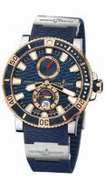 Ulysse Nardin Marine Diver Titanium Mens Wristwatch 265-90-3T/93