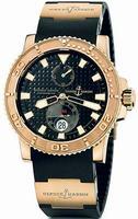 Ulysse Nardin Maxi Marine Diver Mens Wristwatch 266-33-3A-92