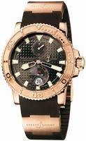 Ulysse Nardin Maxi Marine Diver Mens Wristwatch 266-33-3A-925
