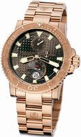 Ulysse Nardin Maxi Marine Diver Chronometer Mens Wristwatch 266-33-8/925