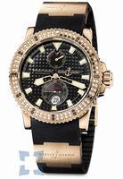 Ulysse Nardin Maxi Marine Diver Mens Wristwatch 266-34-3A-92