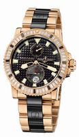 Ulysse Nardin Marine Diver Mens Wristwatch 266-34BAG-8C/92