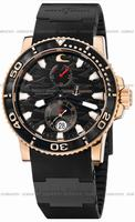 Ulysse Nardin Black Surf Limited Edition Mens Wristwatch 266-37-LE.3B