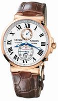 Ulysse Nardin Marine Chronometer Mens Wristwatch 266-65