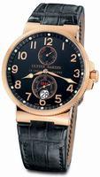 Ulysse Nardin Maxi Marine Chronometer Mens Wristwatch 266-66/62