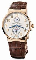 Ulysse Nardin Maxi Marine Chronometer Mens Wristwatch 266-66