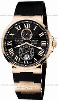 Ulysse Nardin Maxi Marine Chronometer 43mm Mens Wristwatch 266-67-3.42
