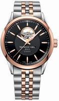 Raymond Weil Freelancer Automatic Open Balance Wheel Mens Wristwatch 2710-SP5-20021