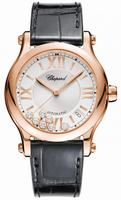 Chopard Happy Sport Round 36mm Ladies Wristwatch 274808-5001-LBK