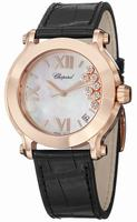 Chopard Happy Sport Round  Ladies Wristwatch 277471-5002-LBK