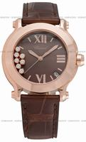 Chopard Happy Sport Round Ladies Wristwatch 277471-5012BR