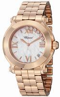 Chopard Happy Sport Round 36mm Ladies Wristwatch 277472-5002