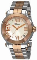 Chopard Happy Sport Round  Ladies Wristwatch 278488-9002
