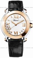 Chopard Happy Sport Round Ladies Wristwatch 278492-9001