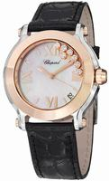 Chopard Happy Sport Round Ladies Wristwatch 278492-9004