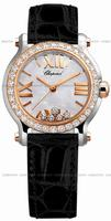 Chopard Happy Sport Round Ladies Wristwatch 278509-6006