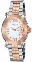 Chopard Happy Sport Oval Ladies Wristwatch 278546-6003