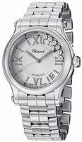 Chopard Happy Sport Round 36mm Ladies Wristwatch 278559-3002