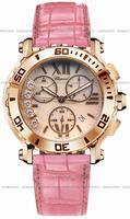 Chopard Happy Sport Round Chronograph Ladies Wristwatch 283581-5003