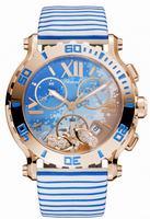Chopard Happy Sport Chrono  Ladies Wristwatch 283581-5011
