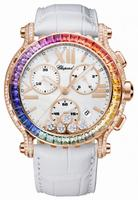 Chopard Happy Sport Chrono Rainbow Ladies Wristwatch 283582-5015
