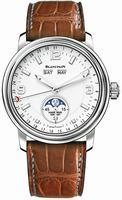 Blancpain Leman Moon Phase Calendar Mens Wristwatch 2863-1127-53B