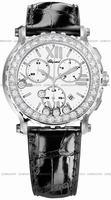 Chopard Happy Sport Round Chronograph Ladies Wristwatch 288506-2002