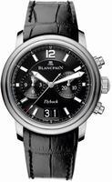 Blancpain Leman Grand Date Flyback Mens Wristwatch 2885F-11B30-53B