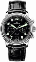 Blancpain Leman Grand Date Flyback Mens Wristwatch 2885F.1130.53B