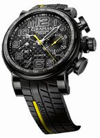 Graham Silverstone Stowe Latin America Yellow Mens Wristwatch 2BLDC.Y26A.K66N
