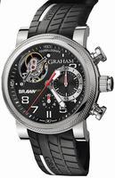 Graham Tourbillograph Trackmaster Mens Wristwatch 2BRTS.B01A.K68S