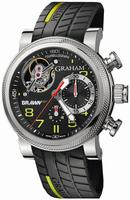 Graham Tourbillograph Trackmaster Mens Wristwatch 2BRTS.B03A.K68S