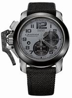 Graham Chronofighter Oversize Mens Wristwatch 2CCAC.B08A.T12S