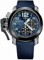 Graham Chronofighter Oversize Mens Wristwatch 2CCAC.U01A.T22S