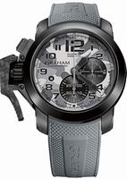 Graham Chronofighter Oversize Black Arrow Mens Wristwatch 2CCAU.S02A