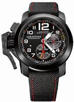 Graham Chronofighter Oversize Superlight TT Mens Wristwatch 2CCBK.B07A