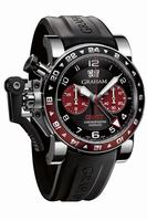 Graham Chronofighter Oversize GMT Steel Mens Wristwatch 2OVGS.B20A